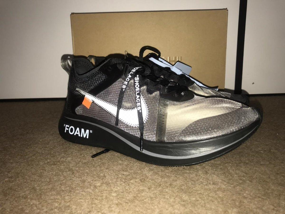 Tenis Nike Zoom Fly Preto Off White - R  1.299 9ec4c2e0608a0