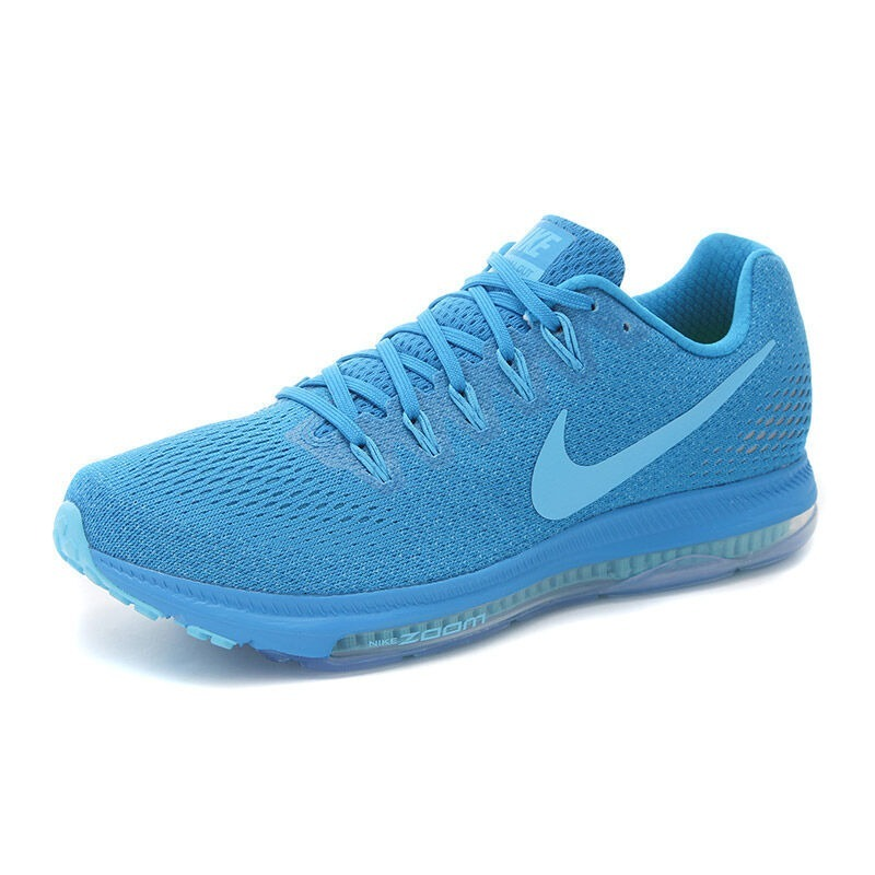 7746acf8b22 Tenis Nike Zoom Low All Out Azul Con Blanco Dama