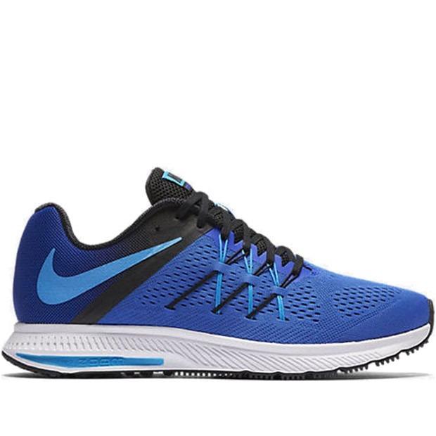 zapatos deportivos 42fc3 61a98 Tenis Nike Zoom Winflo 3 Azul Hombre Originales
