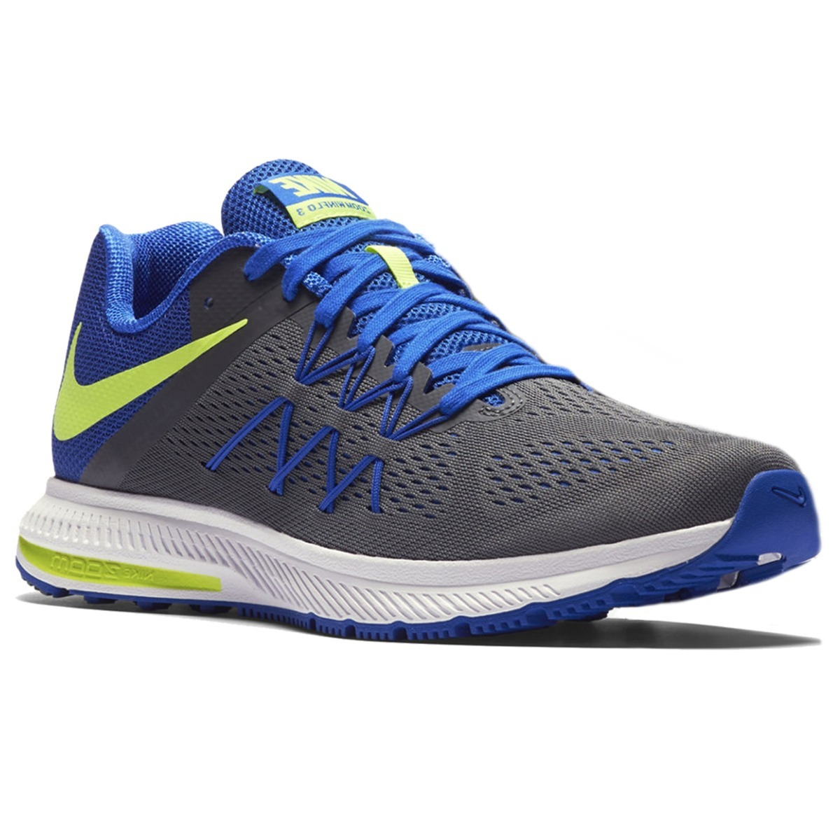 99b2adba689 ... new zealand tenis nike zoom winflo 3 gris azul correr running  deportivo. cargando zoom.