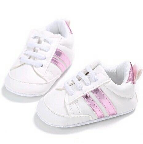 28b2cfca00d80 Tenis Niña Calzado Bebé Blandos Blancos rosa 11 12 13 -   270.00 en ...