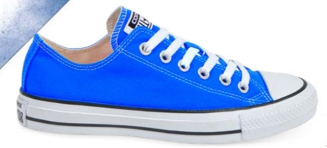 converse niños azules