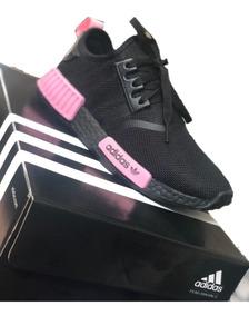 adidas feminino preto com rosa