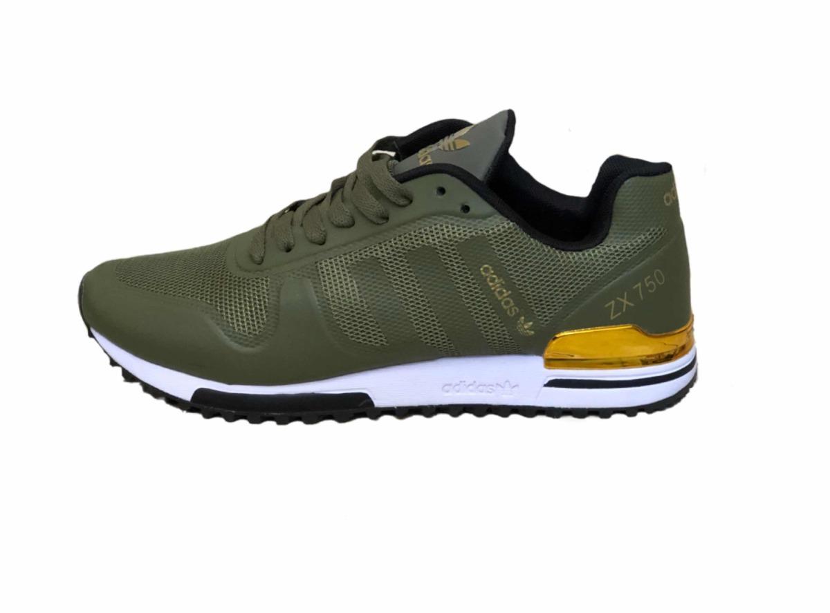 adidas zx 750 verde amarillo