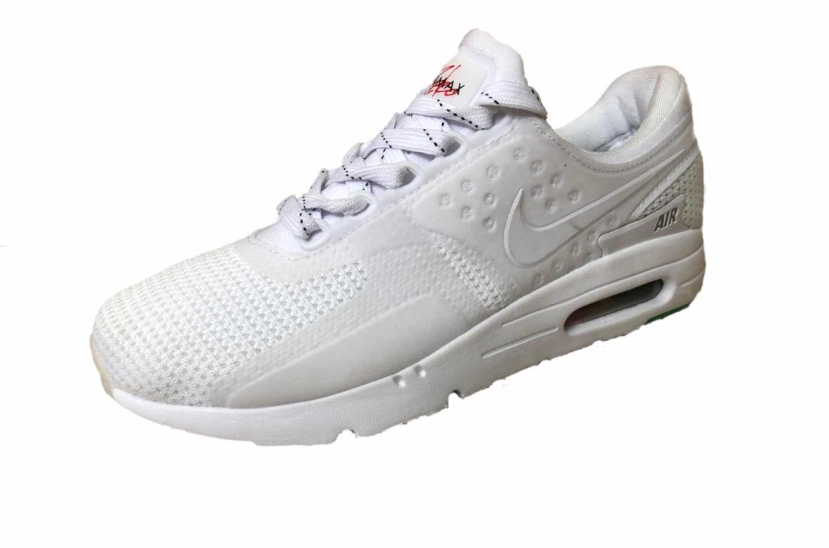 newest 1dc5d 67ee7 Tenis Nuevo Nike Air Max Zero Be True Blanco