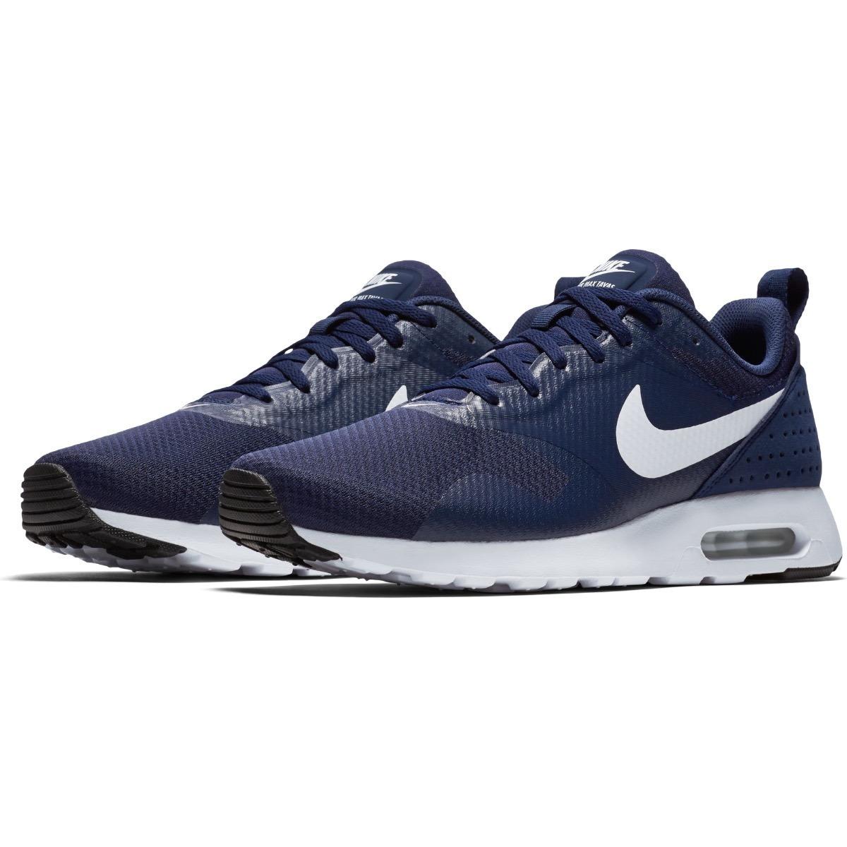 Tenis Nuevos Originales Casual Nike Air Max Tavas Azules