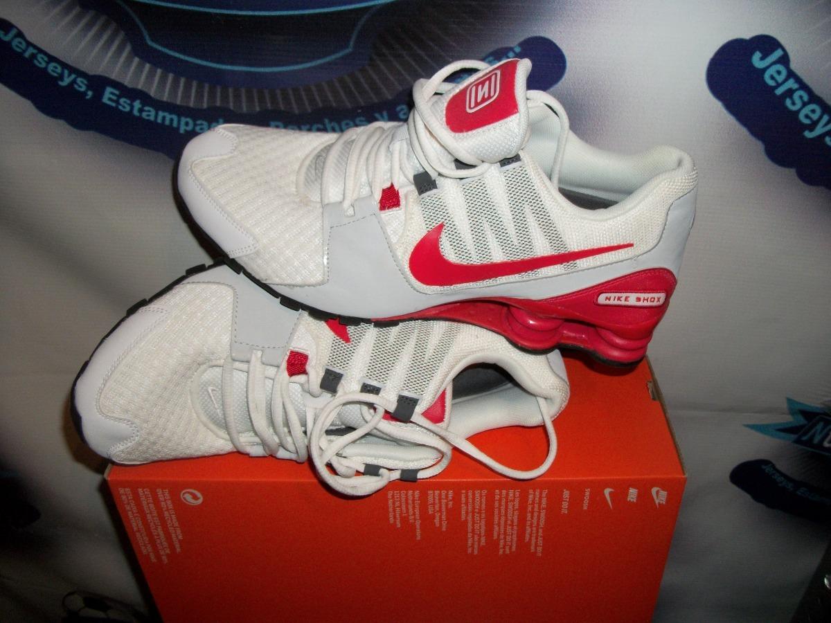 brand new 8f45c 2214e ... release date tenis nuevos originales nike shox rojos 26.5. cargando  zoom. f1593 cfff9
