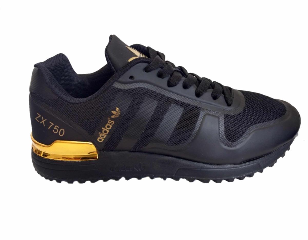 finest selection c32b4 6de7c tenis oferta adidas zx 750 negro dorado. Cargando zoom.