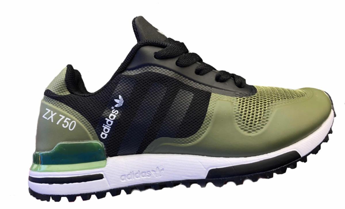 c06ed3de1df tenis oferta adidas zx750 verde negro para niño. Cargando zoom.