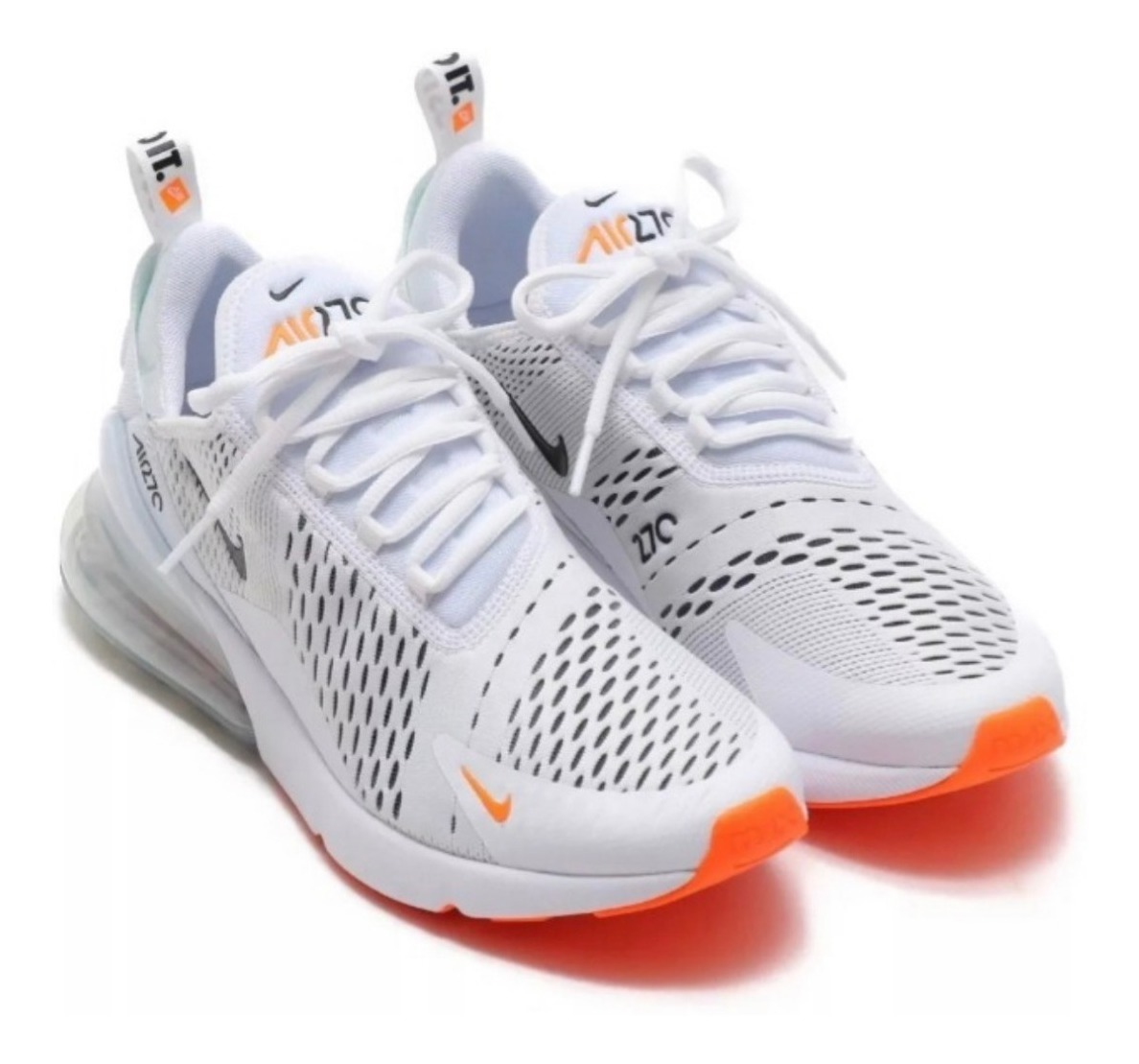 new styles 316ef 82ce9 Tenis Oferta Nike Air 270 Just Do It Blanco 2019