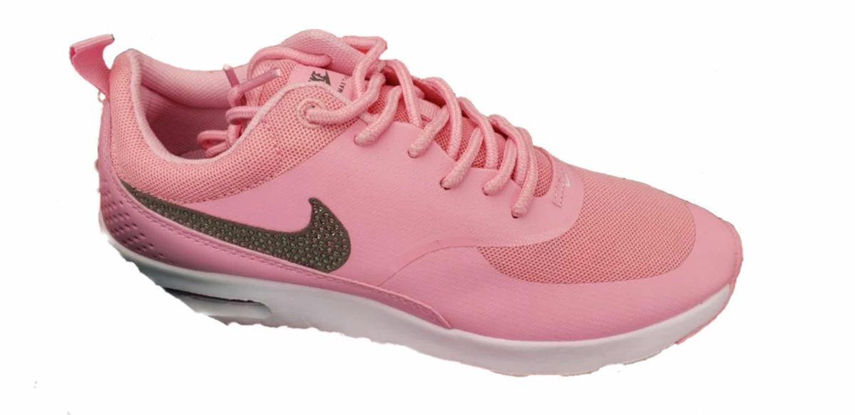 4eec77854e1 Tenis Oferta Nike Air Max Thea Rosa brillos -   1