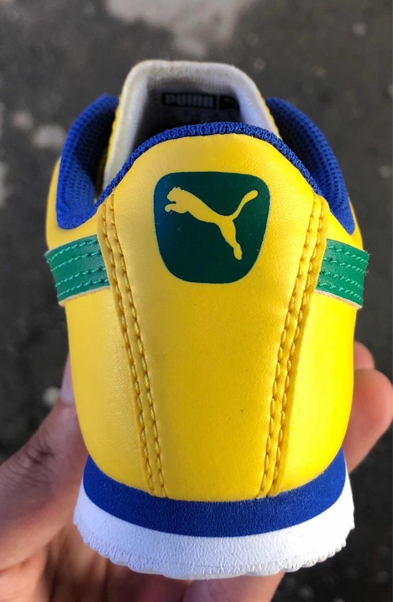 3a174c872bb86 tenis oferta puma ed mundial brasil amarillo para niño. Cargando zoom.