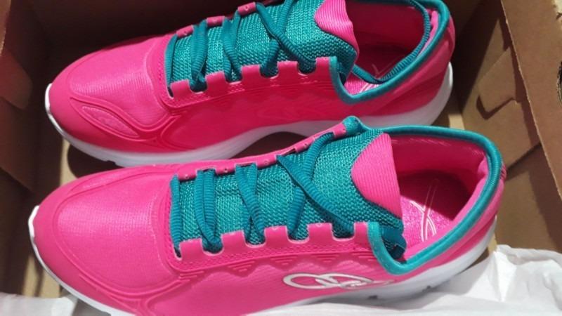 86f49555b7a tenis olympikus cor rosa e roxo. Carregando zoom.