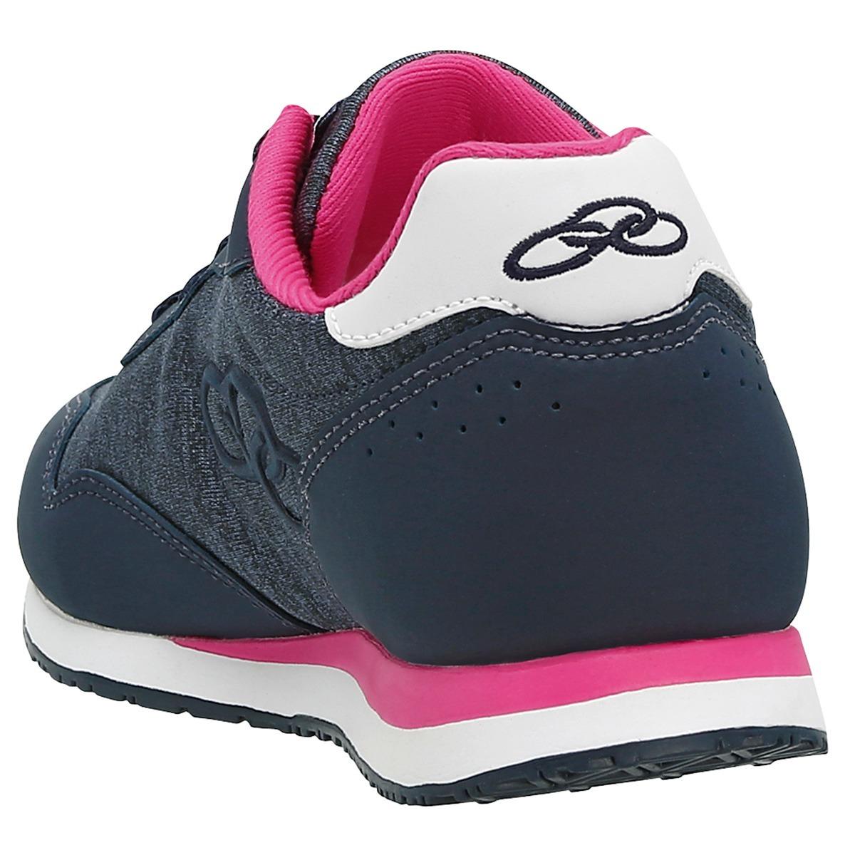 62dd6d400e7 tenis olympikus fancy 265 feminino - marinho e pink. Carregando zoom.