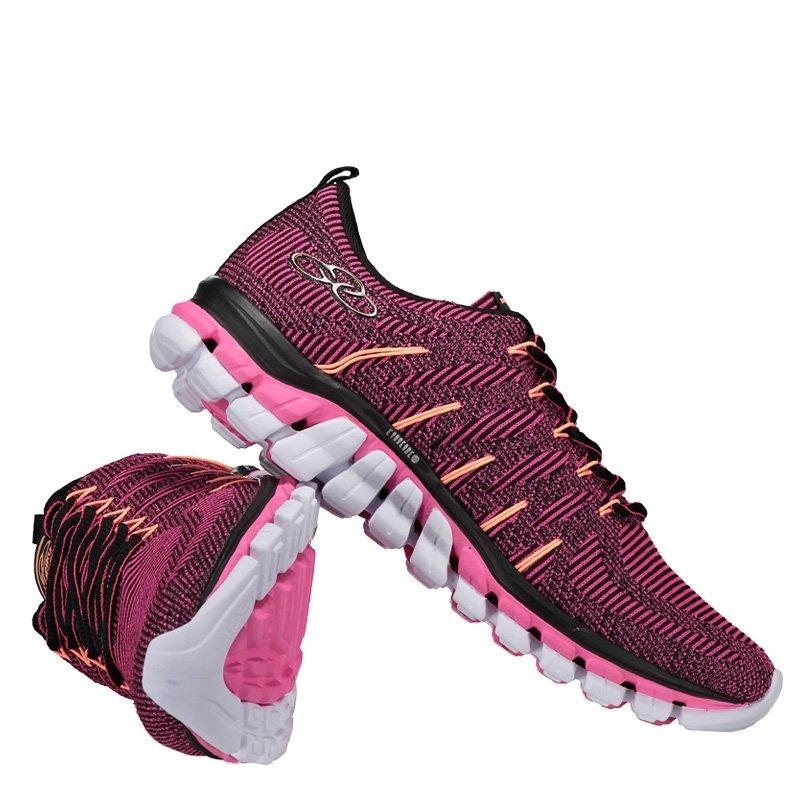 f50c379c658 tenis olympikus feminino style 298 pink preto. Carregando zoom.
