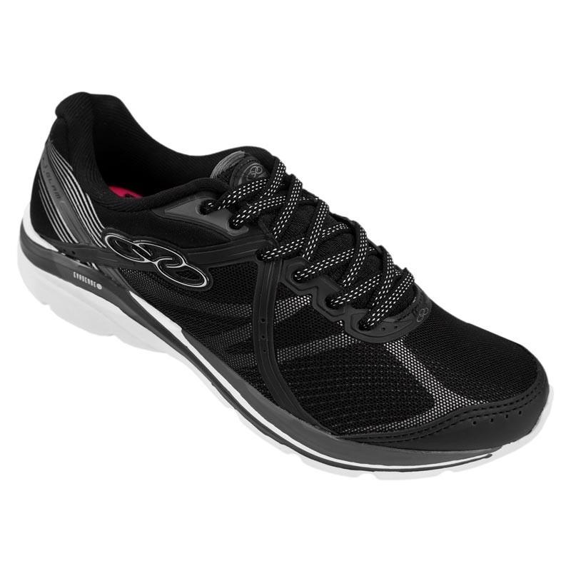 2696ed9bc76 tenis olympikus glam  434 preto branco palmilha feetpad. Carregando zoom.