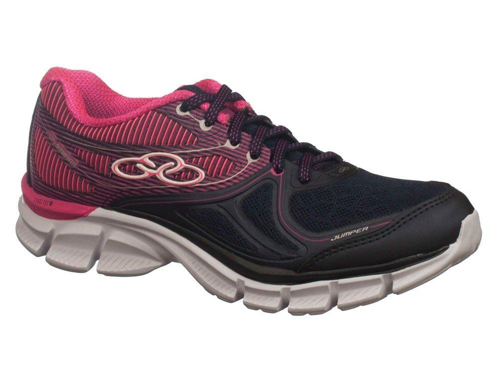 44b91feaa tenis olympikus jumper 417 academia e caminhada marinho/rosa. Carregando  zoom.