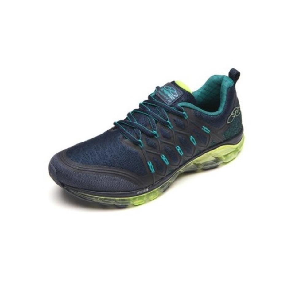 9643ae5fbb3 Tenis Olympikus Run Azul verde Master 2 366 Lançamento - R  299