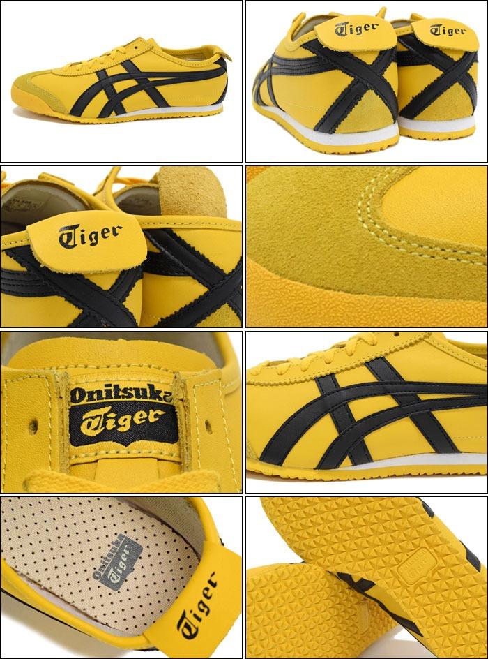 asics tiger mexico 66 yellow zapatillas 02