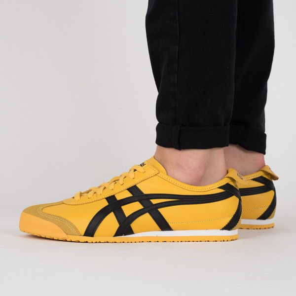 best website dd5b0 9cfd2 Tenis Onitsuka Tiger Mexico 66 Yellow/black Dl408.0490