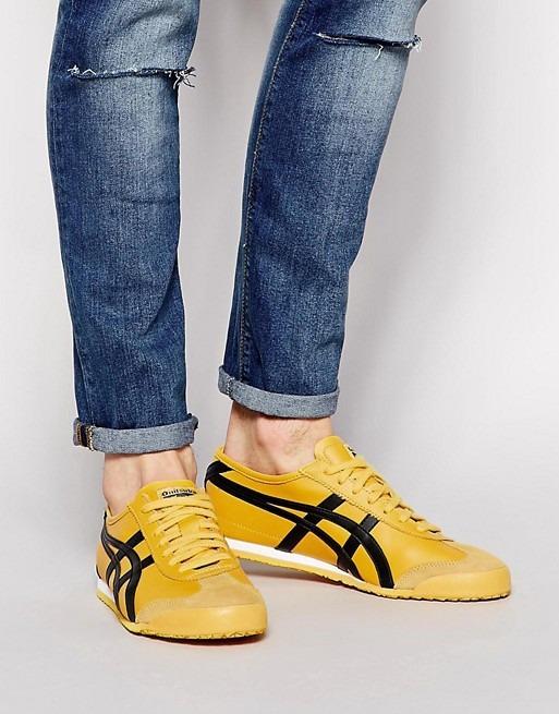 onitsuka tiger mexico 66 yellow zapatillas hombre