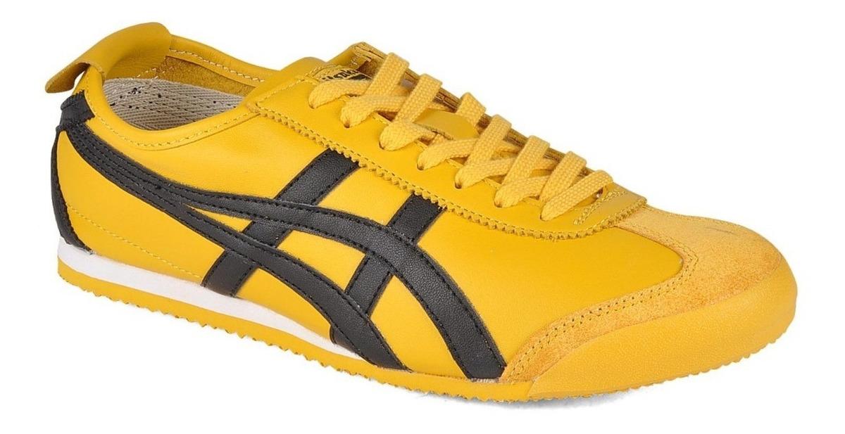 asics tiger mexico 66 yellow zhavia ebay