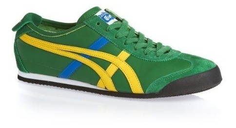 official shop buying cheap amazing price Tenis Onitsuka Tiger Unisex Verde Amarillo Hl7c28504