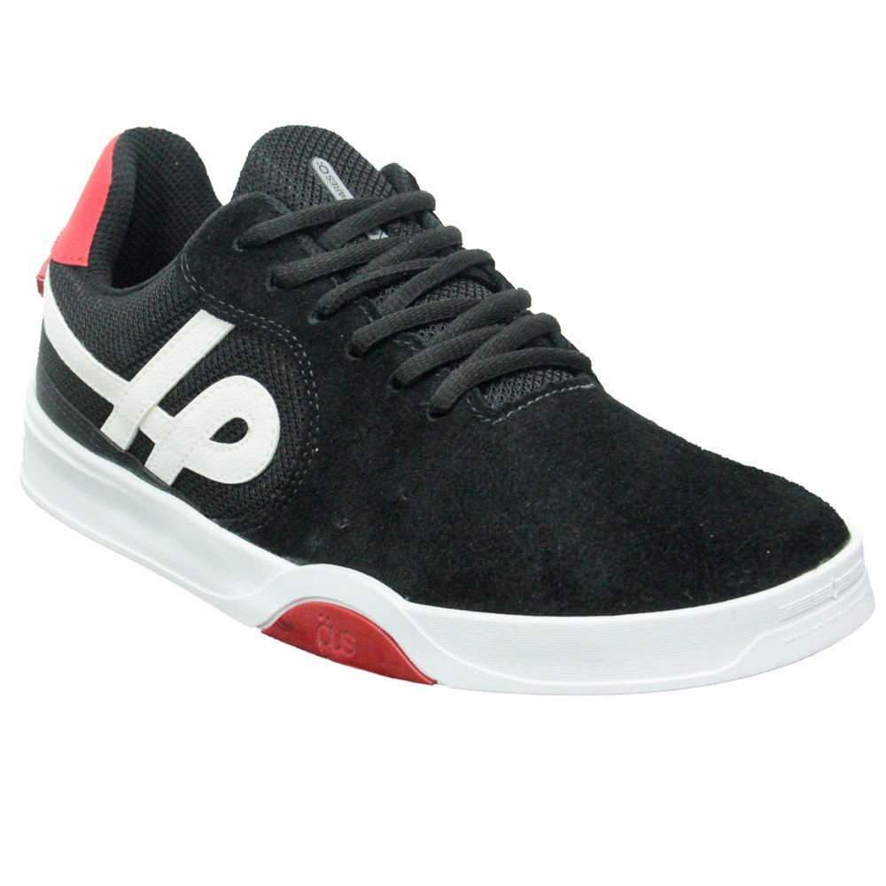 a9d804f2bd tenis ous imigrante essencial sneake original preto vermelho. Carregando  zoom.