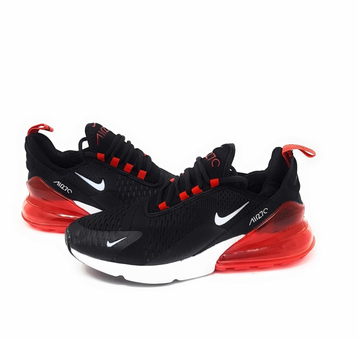 Tenis Outlet Nike Air Max 270 Negro rojo -   1 fd67e8cfaba