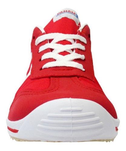 tenis panam original mujer hombre fuego rojo 22 al 31