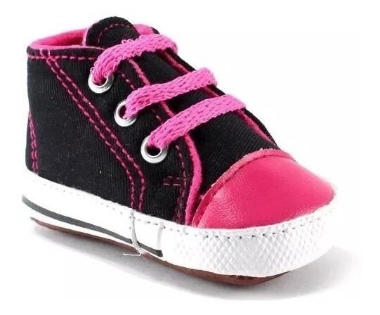 Tenis Para Bebé Tipo Converse Varios Colores Envío Gratis X5