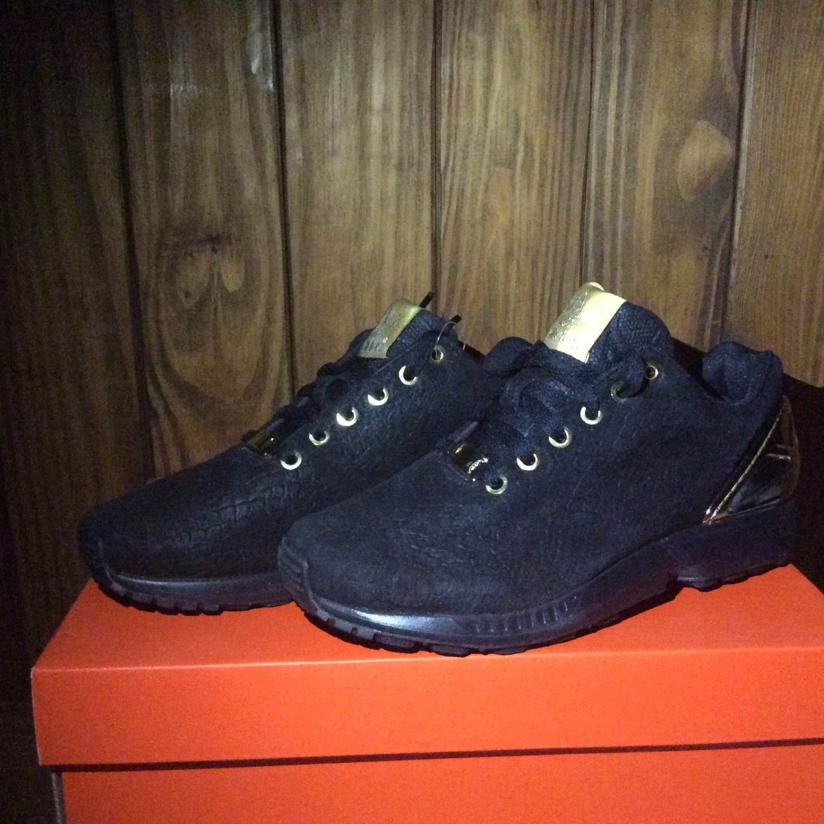 check out ea0a6 ee96f Tenis Para Dama adidas Zx Flux Black/gold