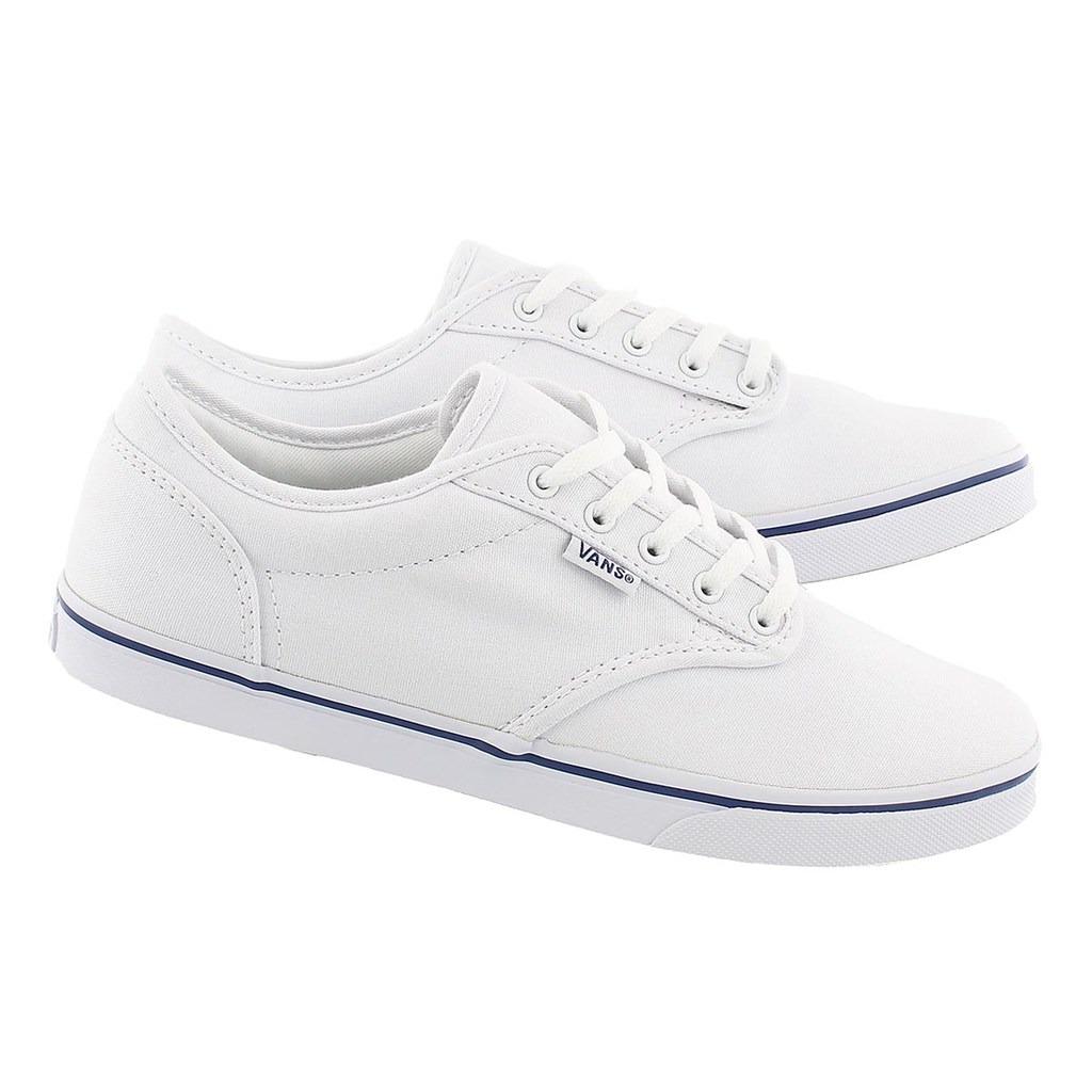 f72b69b107ea tenis para mujer vans atwood low top sneakers blancos 2018. Cargando zoom.