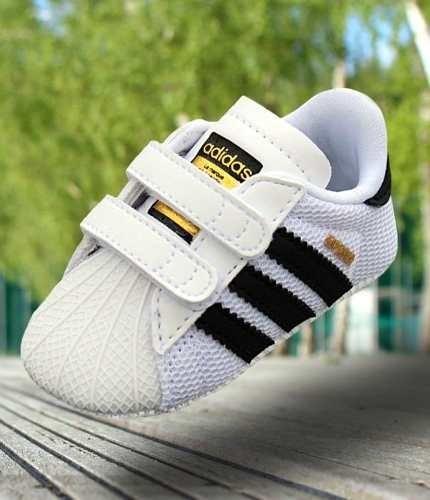 6f0547e12 Tenis Para Niño adidas Superstar Crib Blanco-negro -   900.00 en ...