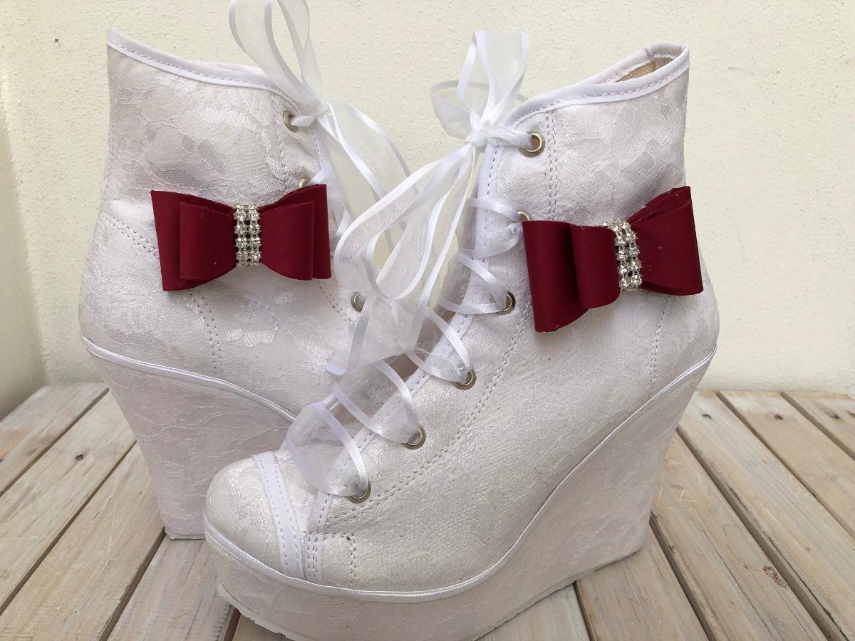 c6c93b07 Tenis Para Novia, Zapatos Para Boda, Zapatos Para Novia - $ 890.00 ...