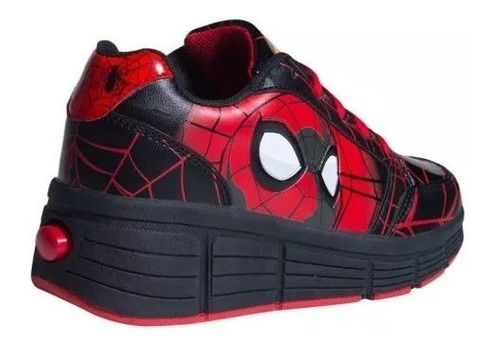 tenis patines spiderman 2019 originales + ¡envío gratis!