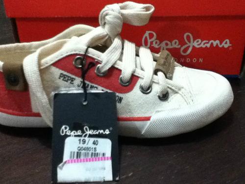 tenis pepe jeans niño(a) t-19 excelente precio!!