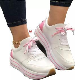51d956e4e3 Zapato Terciopelo Con Plataforma Moda - Zapatos para Mujer en ...