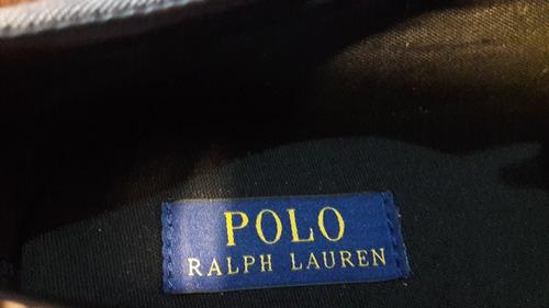 tenis polo by ralph lauren nuevos originales hombre