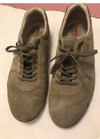 0d2d78a49 Tenis Prada Original Camurca Marrom - Calçados, Roupas e Bolsas no ...