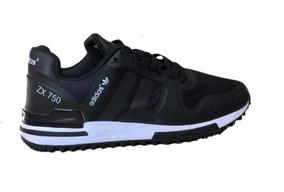 sale retailer 2f9f5 d1b75 Tenis Promoción adidas Zx 750 Negro