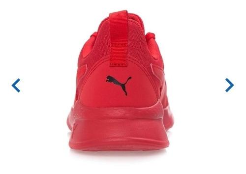 Tenis Puma Anzarun Lite Color Rojo Para Hombre