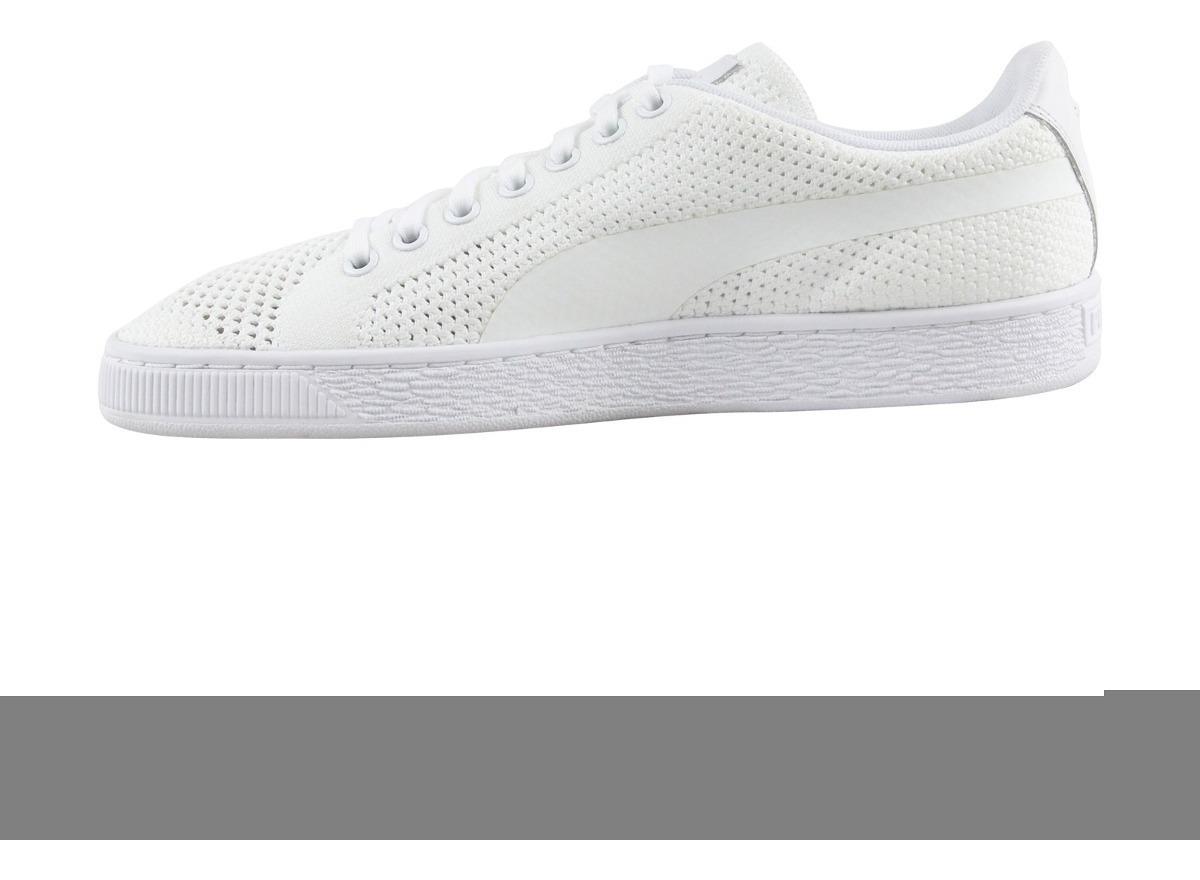 buy online 6c0f4 a2f4e Tenis Puma Basket Classic Evoknit Blancos No. 36318004