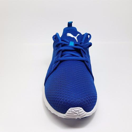 tenis puma carson mesh rojo azul 189024