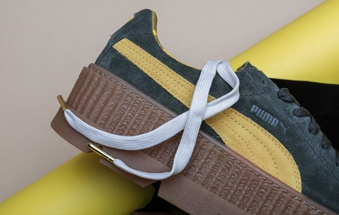 check out 27359 53f09 Tenis Puma Cleated Creeper Suede Wn´s Verde Mujer Originales