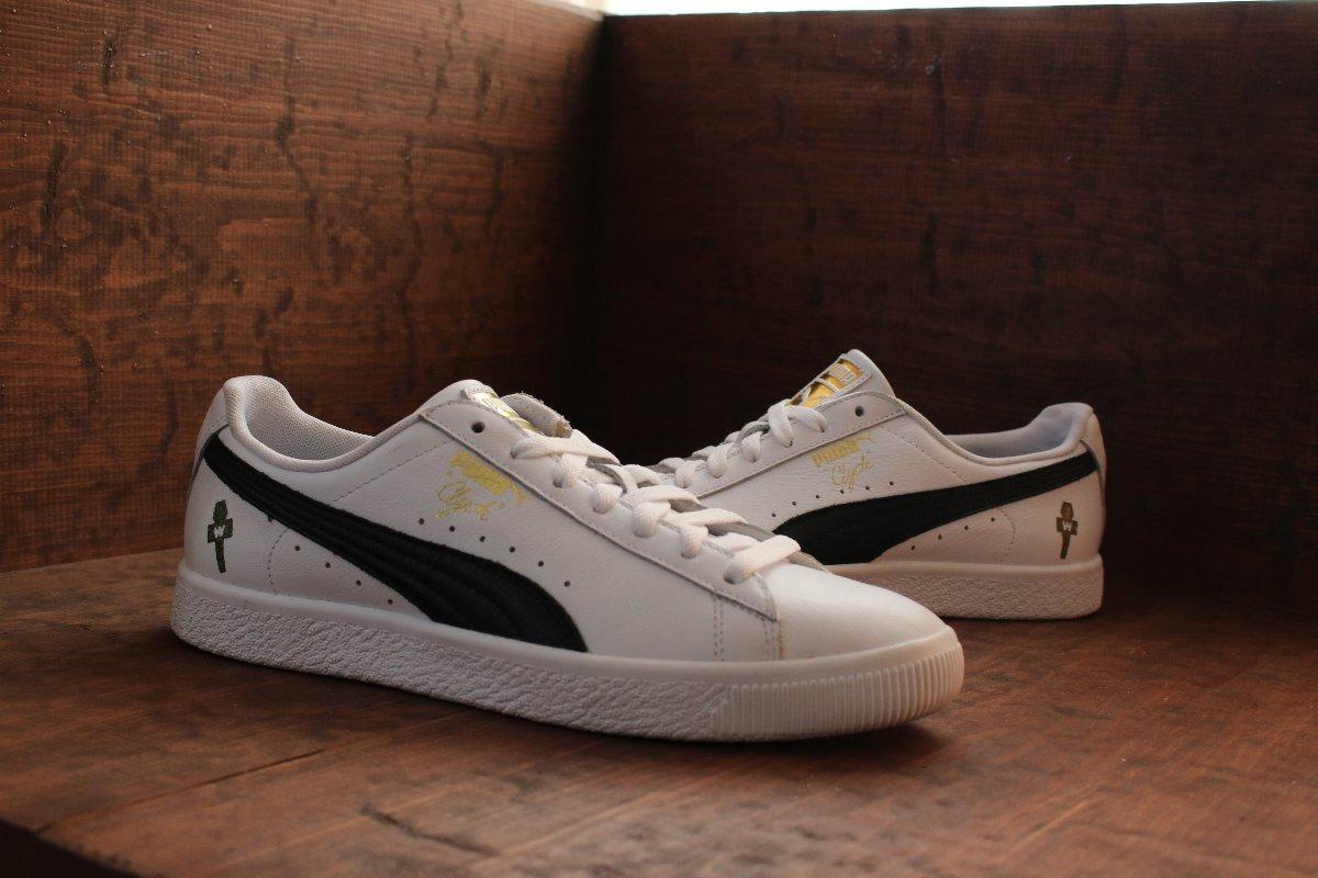 meet f230c cbc77 Tenis Puma Clyde White/black Nasotafi2