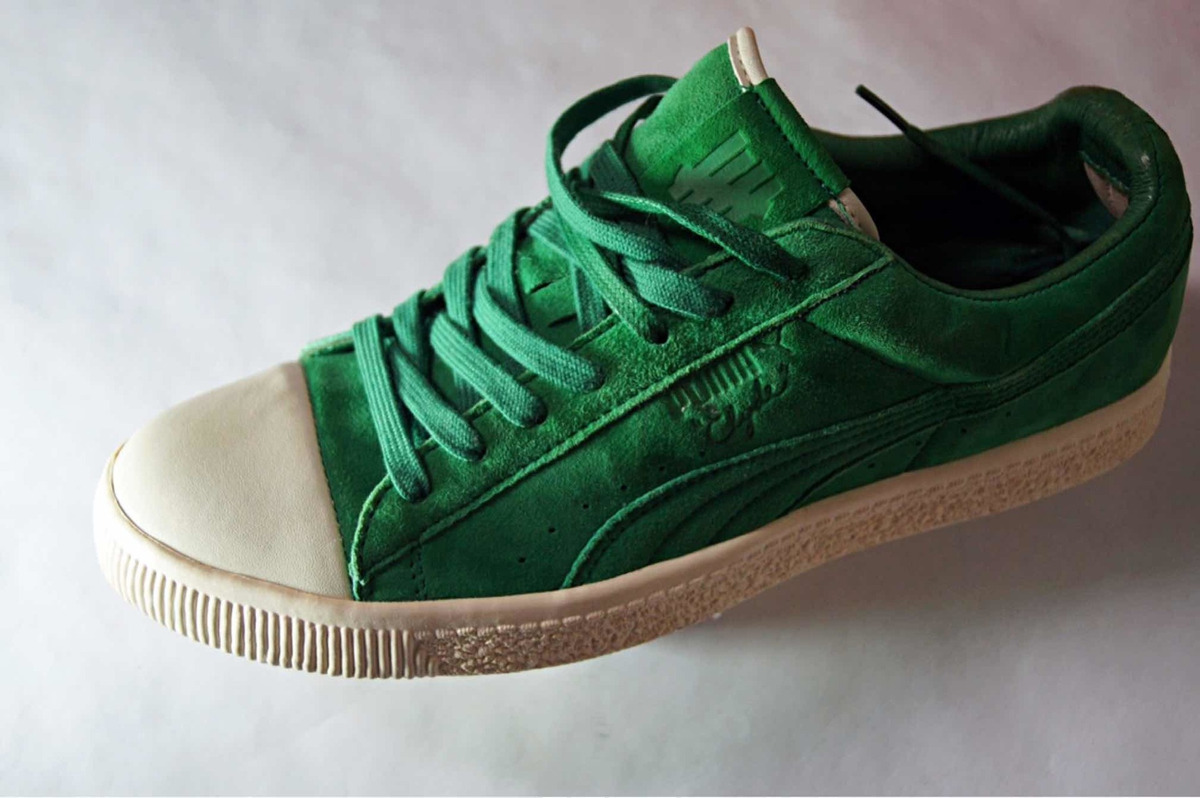 check out bfd41 90e24 Tenis Puma Clyde X Undefeated