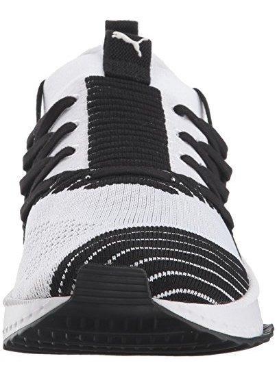 tenis puma negro con blanco