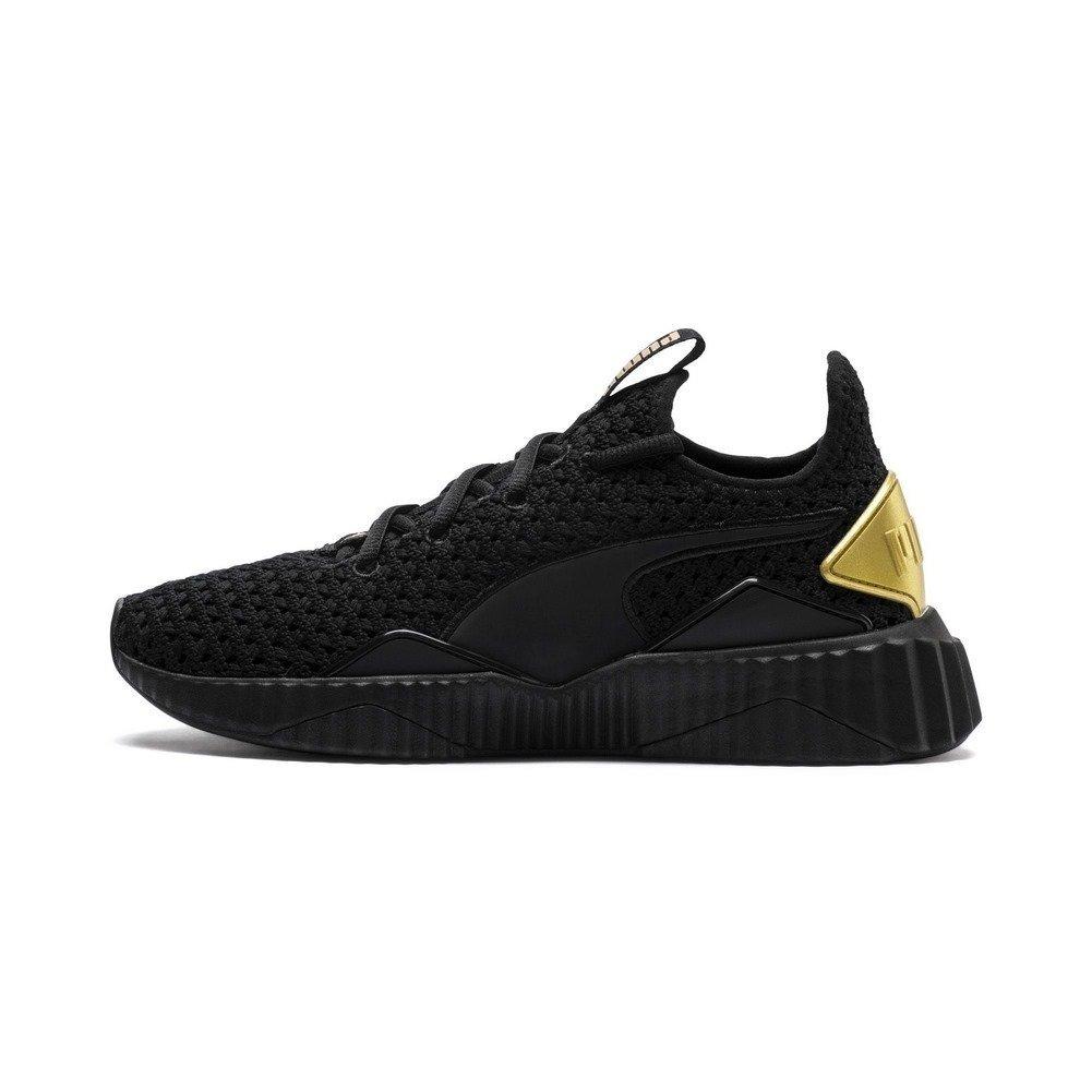 Sabio Cita Sinewi  tenis puma mujer negro con dorado - Tienda Online de Zapatos, Ropa y  Complementos de marca