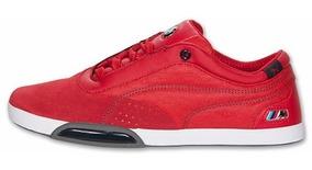 tenis puma bmw rojos